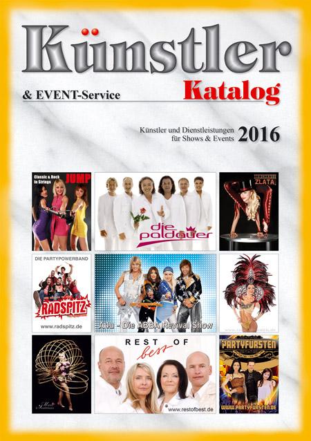Künstler Katalog 2016