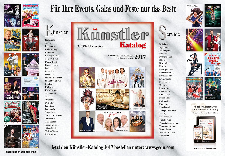 Was Ist Der Erfolg Des Künstler Kataloges Gedu Werbe Und
